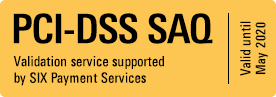 PCI-DSS SAQ - Validation service supported by SIX Payment Services